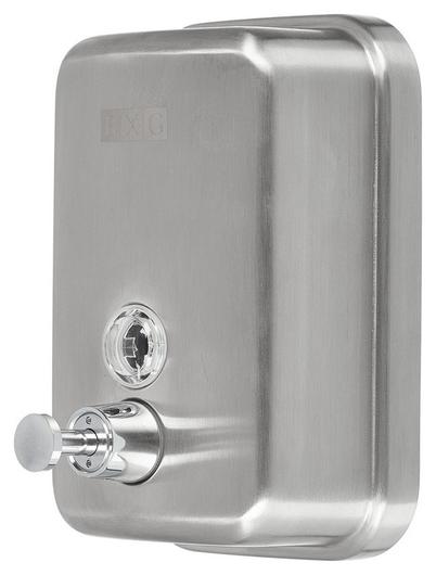 Дозатор для жидкого мыла BXG SD H1-500м 500 мл. нерж.сталь(Матовый)  Bxg