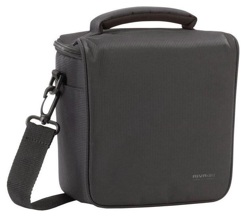 Сумка для фото/видео Riva 7302 (PS) SLR Camera Bag Black  RIVACASE