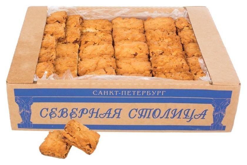 Печенье песочное венское абрикос северная столица, 5 кг  Северная столица