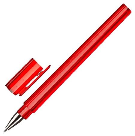 Ручка шариковая Attache тетра синяя, 0,5мм, цвет корпуса в асс.  Attache
