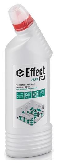 Профхим сантех кисл от сложн загрязнений Effect/alfa 105, 0,75л  Effect