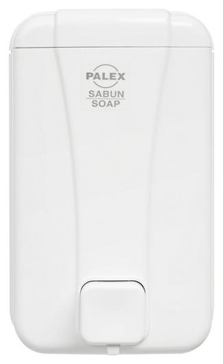Дозатор для жидкого мыла Palex 3430-0 пластик белый 1000 мл  Palex