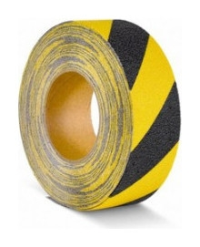 Лента противоскользящая 50мм х 18,3м формуемая желто-черная (M2wr050183)  Mehlhose