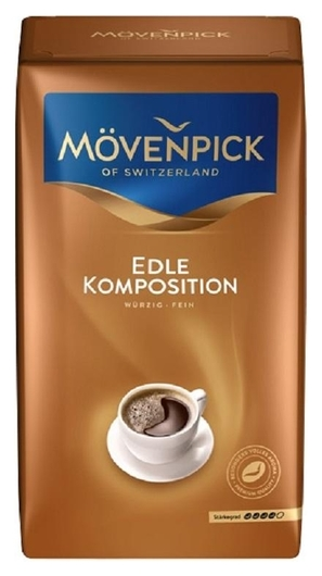 Кофе Movenpick Edle Komposition молотый, 500г  Movenpick