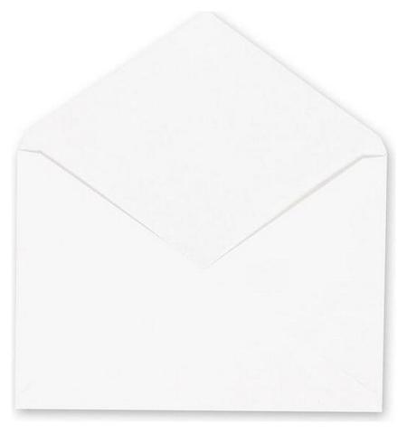 Конверты белый С6 декстрин 114х162 80г Рос 1000шт/ уп  NNB