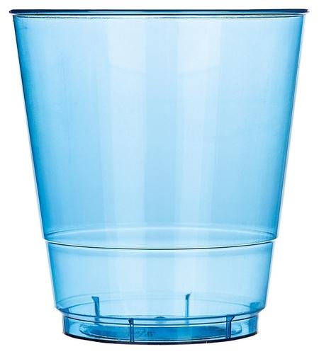 Стакан одноразовый 200мл кристалл синий комус ПС 50шт/уп  Комус
