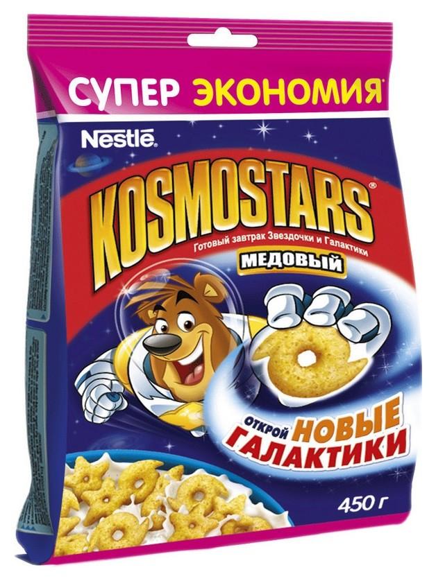 Завтрак сухой завтра Kosmostars пакет 450г  Kosmostars