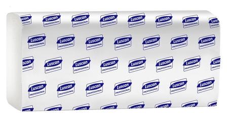 Полотенца бумажные для дисп. Luscan Professional M-слож2слбелвтор150л21пач/уп  Luscan