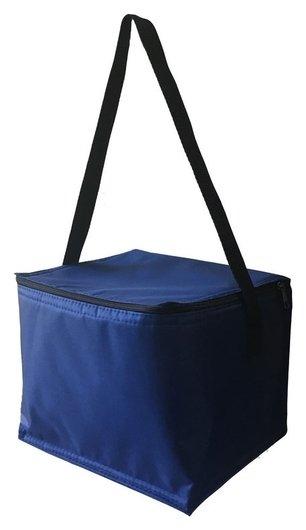 Термосумка 8л для завтраков АРТ 014 - темно-синий  Termopack