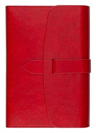 Ежедневник недатированный а5 175x235 мм Senate красный 272 стр. 3-213/01  Bruno Visconti
