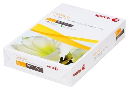 Бумага для цветной лазерной печати Colotech Plus А4, 200г, 170%  Xerox
