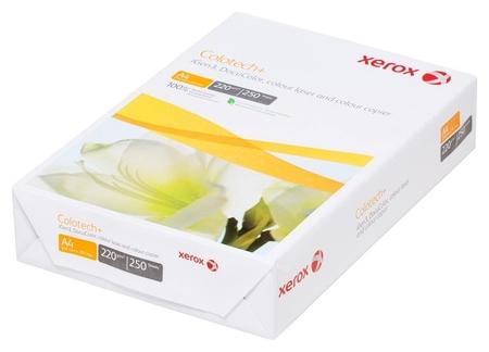 Бумага для цв.лазер.печ. Xerox Colotech Plus (А4,220г,170%cie) пачка250л.  Xerox