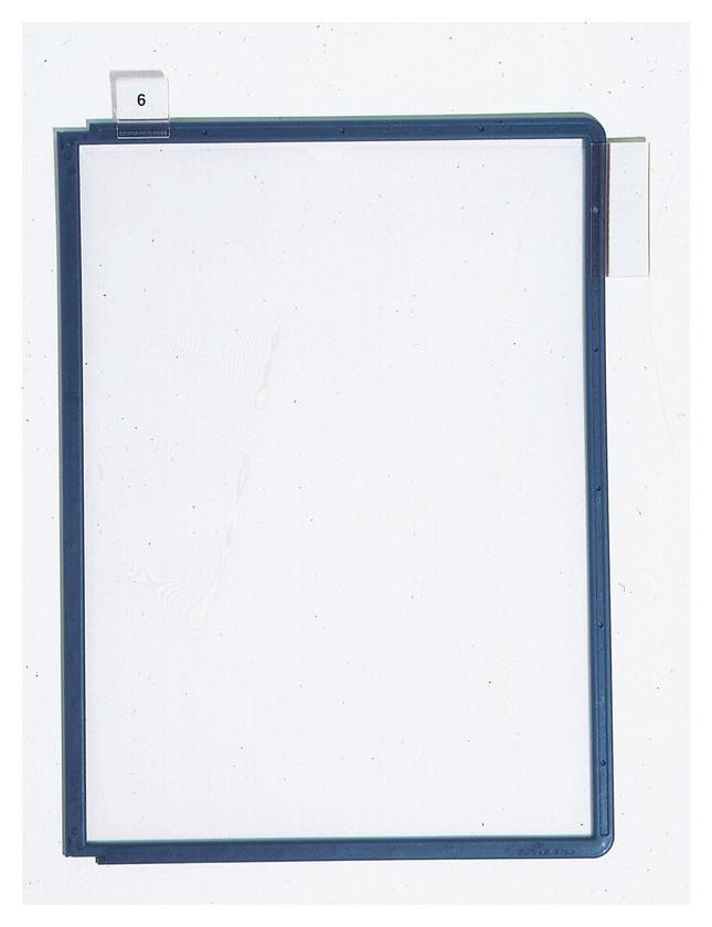 Демо-система панель Durable 5606-07 синяя для демо-системы упк/5шт.  Durable
