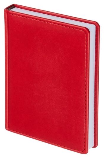 Ежедневник недатированный красный,а6,110х155мм,176л,attache сиам  Attache