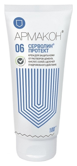 Крем защитный армакон серволин протект гидрофоб 100мл 1198  Армакон