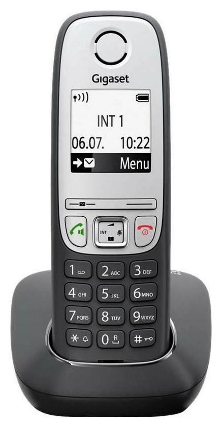 Радиотелефон Dect Gigaset A415 черный  Gigaset