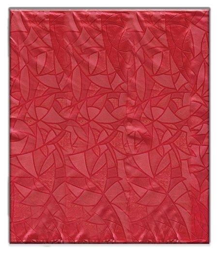 Скатерть ПВХ 120*180см, красная  NNB