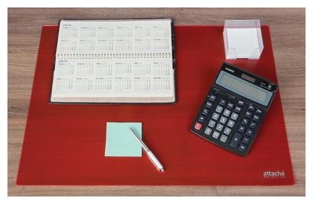 Коврик на стол Attache Selection 47,5x66см, прозрачный розовый, 2808-521  Attache