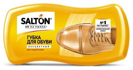 Губка для обуви волна из гладкой кожи Salton бесцветный New262586064  Salton