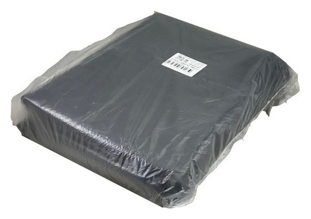 Мешки для мусора ПВД 120л 35 мкм 50шт/уп черный 70х110см NNB