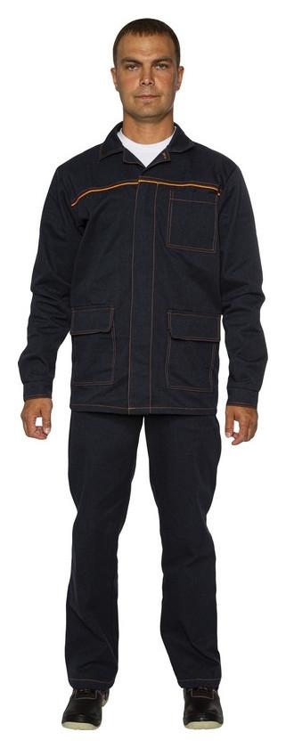 Спец.одежда летняя костюм мужской л28-кбр т.синий (Р.52-54) 170-176 NNB