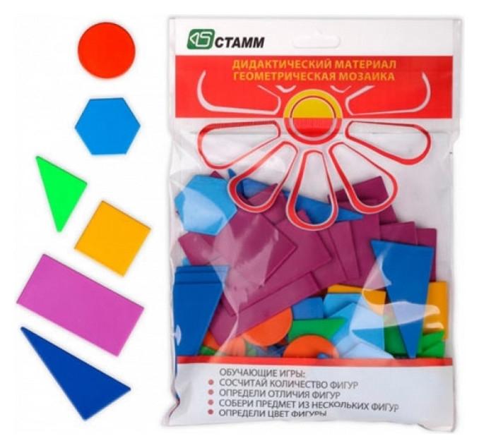 Набор счетного материала геометрическая дм01 мозаика эконом Стамм