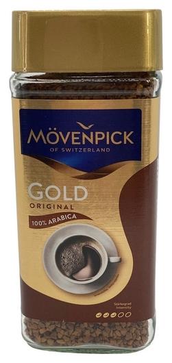 Кофе Movenpick Gold Original растворимый, 100г стекло  Movenpick