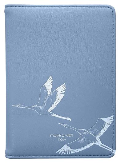 Обложка для автодокументов 100х135 мм, иск. кожа. Wish Idl059/blue inFolio
