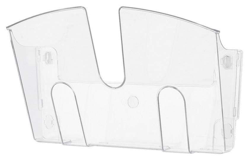 Дисплей настенный Attache 1 отделение А4 прозрачный пластик  Attache