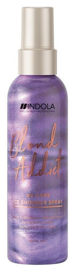 Спрей для холодных оттенков блонд Ice Shimmer Spray  Indola
