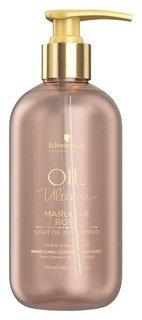 Шампунь для тонких волос Oil Ultime Light Oil-in-shampoo  Schwarzkopf Professional