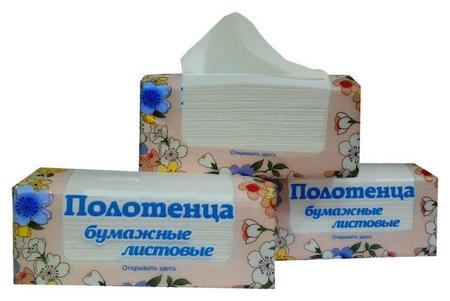 Полотенца бумажные для держ. Skara V- сложения, 2 сл., 200 лист/уп.  Skara