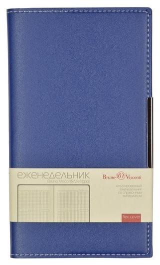 Еженедельник А6 Metropol (Синий) 3-492/01  Bruno Visconti