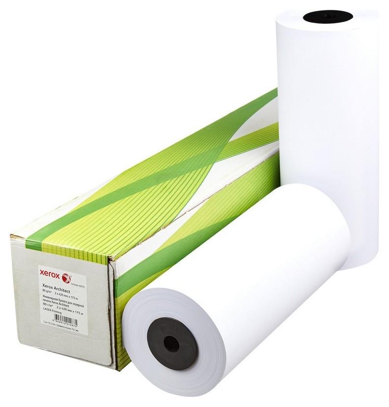 Бумага широкоформатная Xerox Architect 80г 420ммх175м 76мм  Xerox