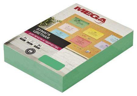 Бумага цветная Promega Jet (А4,80г,зеленый интенсив) пачка 500л  ProMEGA