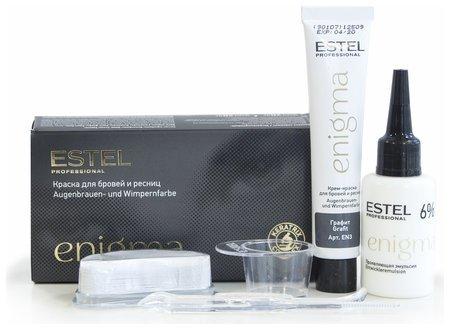 """Краска для бровей и ресниц """"Enigma""""  Estel Professional"""