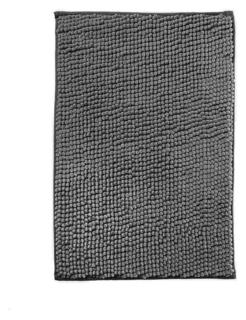 Коврик для ванной микрофибра 40х60см (В рулоне), шенилл серый  NNB