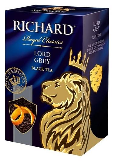 Чай Richard Lord Grey черный листовой, 90г  Richard