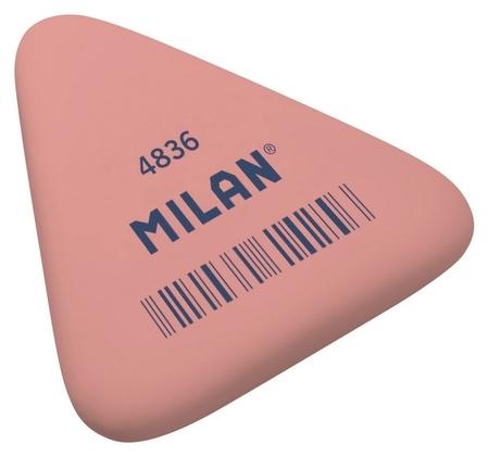 Ластик каучуковый Milan 4836, треугольный, цв.в ассорт  Milan