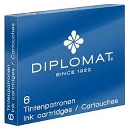 Чернила чернильный картридж Diplomat синие 6 шт/уп D10275212  Diplomat