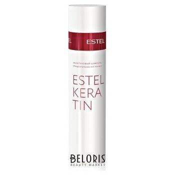 Кератиновый шампунь для волос Estel Keratin Estel Professional