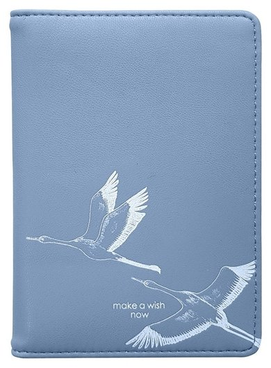 Обложка для паспорта 100х135 мм, иск. кожа. Wish Ipc059/blue  InFolio