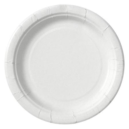 Тарелка из ламинированной бумаги д 180 мм, 50шт/уп  Комус