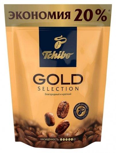 Кофе Tchibo Gold Selection раств.субл.285г пакет  Tchibo
