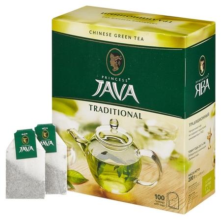 Чай принцесса Ява зеленый 100 пак/уп 0880-18  Принцесса ява