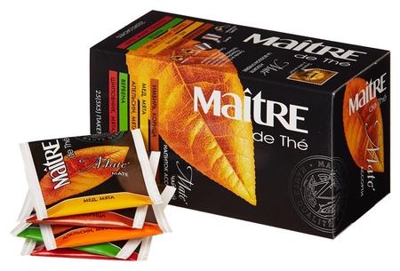 Чай Maitre матэ 25 пак/уп  Maitre