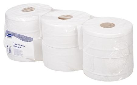 Бумага туалетная для дисп Luscan Professional 2сл бел втор втул 250м 6рул/уп  Luscan