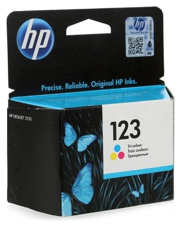 Картридж струйный HP 123 F6v16ae CMY цв. для DJ 2130  Hp