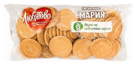 Печенье затяжное мария, любятово, 500 гр.  Любятово