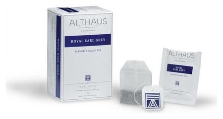Чай Althaus Deli Packs Royal Earl Grey 20 пакx1,75гр/уп  Althaus